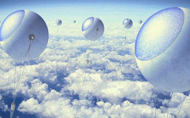 Estos globos podrían ser la solución para producir más energía eléctrica
