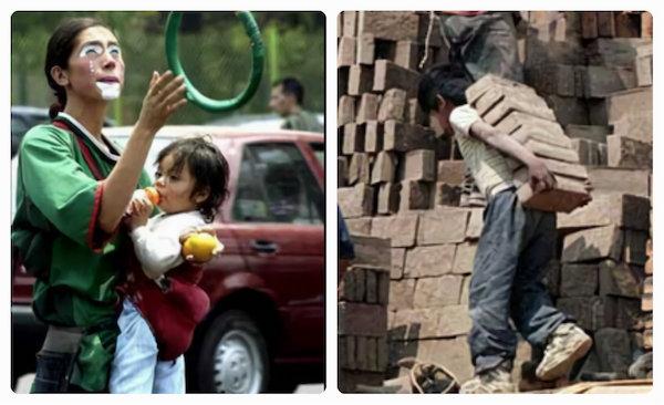 Día del niño y Día del trabajo  Días de reclamo nacional