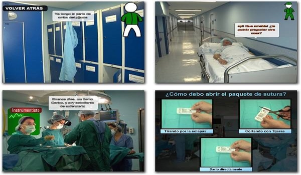 Un videojuego prepara para intervenir en el quirófano