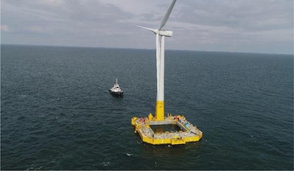 En funcionamiento la primera turbina flotante francesa, suficiente para 5.000 familias